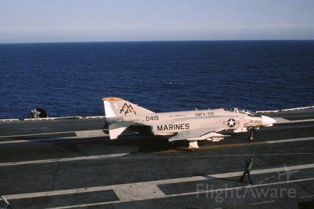 15-0419 — - VMFA 531 / USS Forrestal / Spring 1973