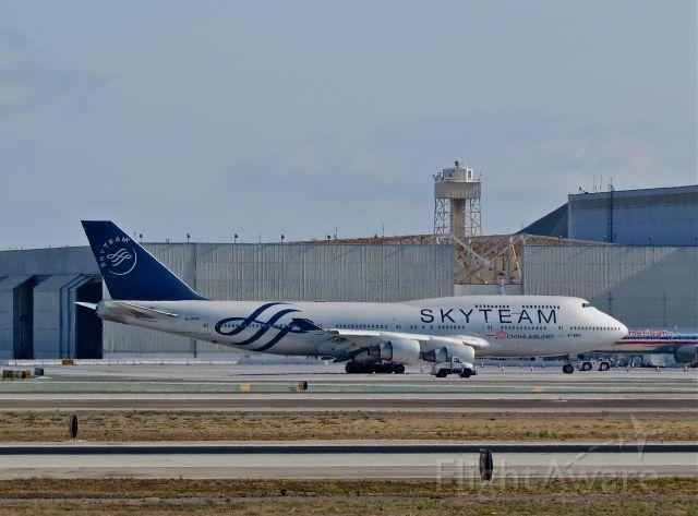 Boeing 747-400 (B-18206) - SKYTEAM