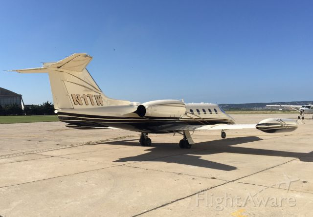 Learjet 35 (N1TW) - A really nice LearJet which is a regular visitor to the South of France.  It
