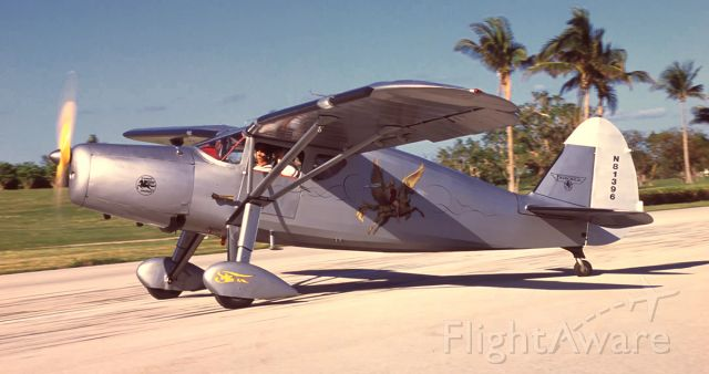 N81396 — - Fairchild 24W-46 built as a radial powered Warner engine, but converted to  a Ranger in line power plant.  12-4-2005 at Ocean Reef Club.