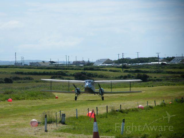 DE HAVILLAND DH-84 Dragon (EI-ABI) - EI-ABI DH 84 DRAGON RAPIDE CN 6105 SEEN HERE AT SPANISH POINT CO CLARE ON JUNE 11 2011
