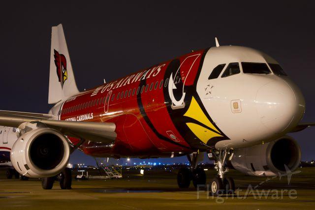 Airbus A319 (N837AW) - Dec. 14, 2011.