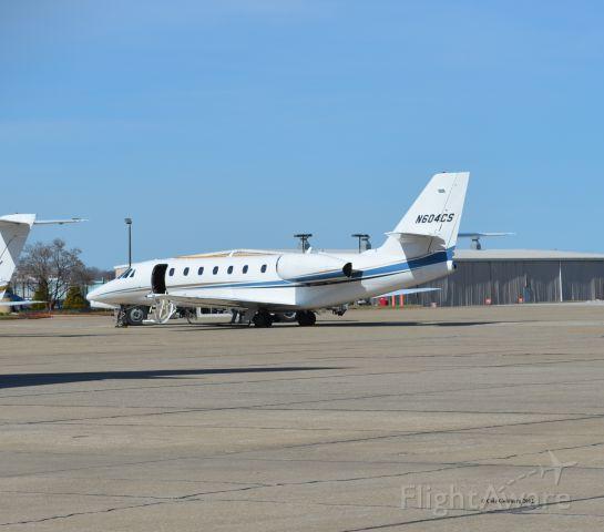 Cessna Citation Sovereign (N604CS) - N604CS seen at Atlantic Aviation at KCLE. Please look for more photos at Opshots.net