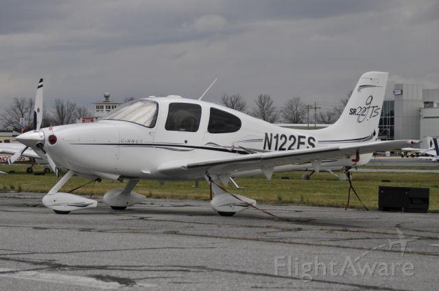 Cirrus SR-22 (N122ES) - Parked at KFDK on 3/29/2009.
