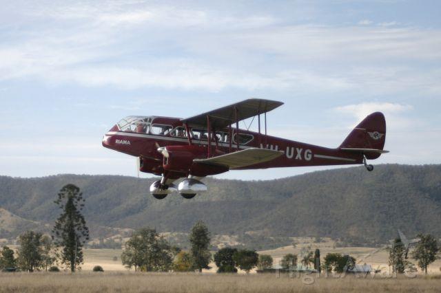 De Havilland Dragon Rapide (VH-UXG)