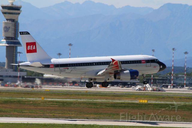 Airbus A319 (G-EUPJ)