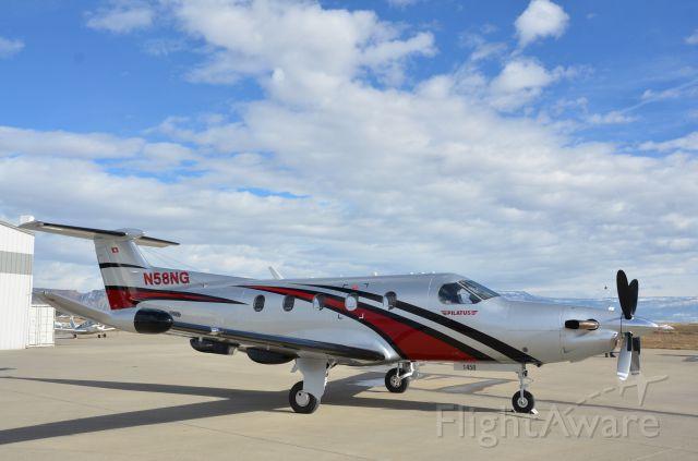 Pilatus PC-12 (N58NG) - New Pilatus for Pilatus.