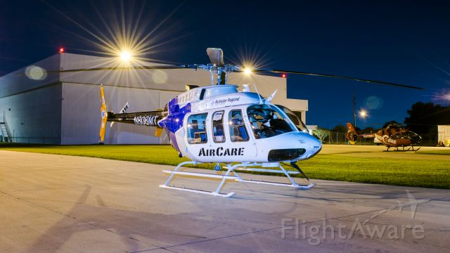Bell 407 (N808MT) - N808MT resting after Hurricane Harvey operations in Houston, TX