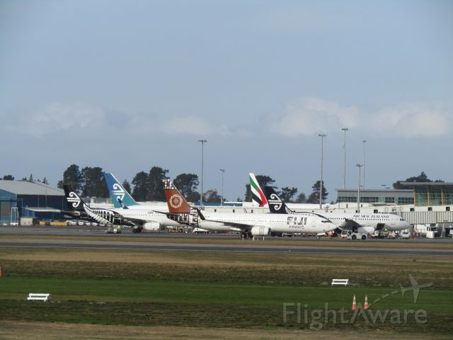 Boeing 737-800 (DQ-FJM) - A super busy day at Chritschurch Airport. (NZCH) !