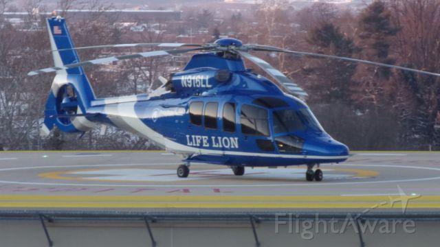 Eurocopter EC-155 (N916LL) - Life lion 2011 Eurocopter Ec-155B1 at York wellspan hospital 94PN