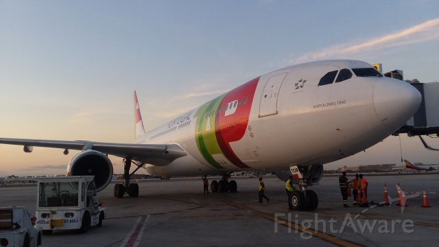 Airbus A330-300 (CS-TOR) - JetBlue Gate 30 Terminal 5 JFK IAP