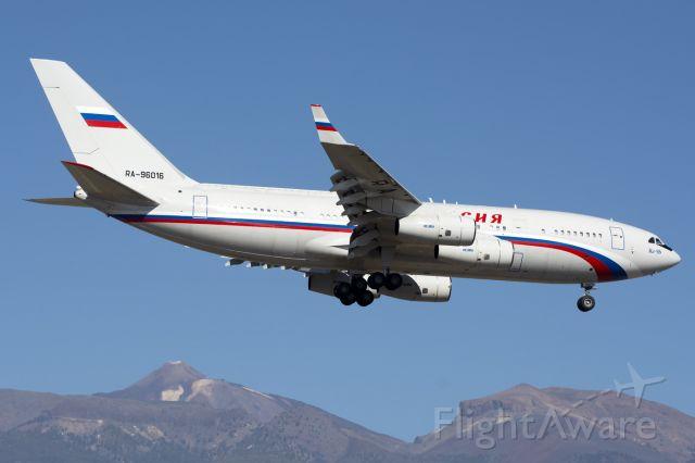 Ilyushin Il-96 (RA-96016) - Tenerife Southbr /02/12/2018