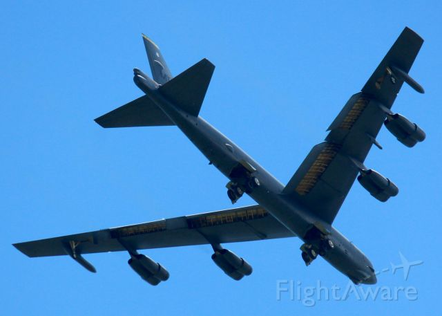Boeing B-52 Stratofortress (61-0014) - Minot AFB  BUFF at Barksdale Air Force Base.
