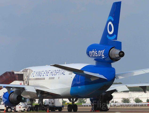 McDonnell Douglas DC-10 (N330AU) - I took this picture on Aug 15, 2019.<br />ORBIS/15Aug NRT-HUI
