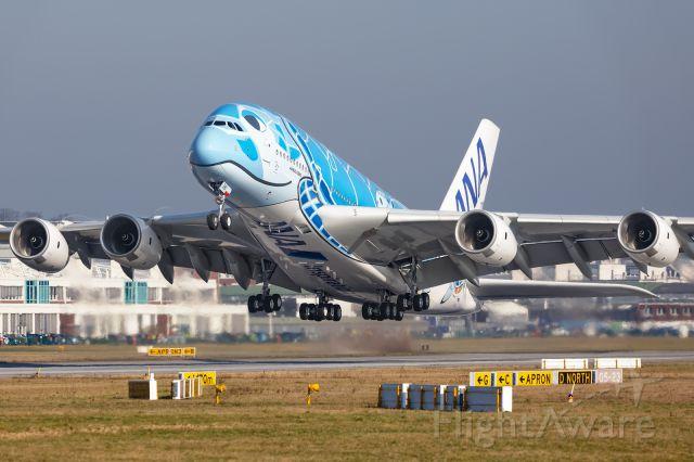 Airbus A380-800 (F-WWSH)