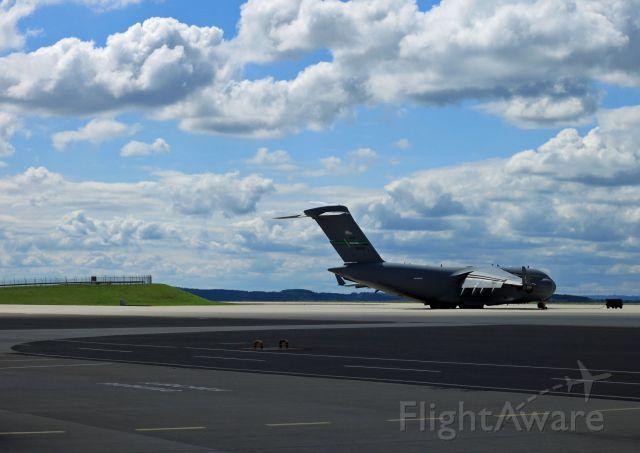 Boeing Globemaster III — - McChord C-17 parked on 726 AMS ramp at Spangdahlem Air Base, Germany