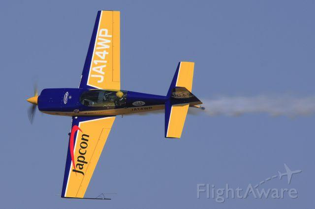 JA14WP — - EXTRA 300L ; JASDF KOMAKI air base festival ; 23 Feb 2014