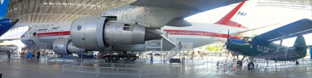 N7470 — - The Original Queen now on Display at the Museum of Flight in Seattle.  A favorite museum of ours because you can actually go in some of the aircraft, like this 747 #1.