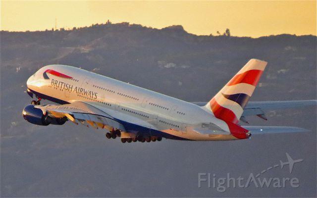 """Airbus A380-800 (G-XLEC) - <a rel=""""nofollow"""" href=""""http://flightaware.com/live/flight/GXLEC/history/20141124/0010Z/KLAX/EGLL"""">http://flightaware.com/live/flight/GXLEC/history/20141124/0010Z/KLAX/EGLL</a>"""
