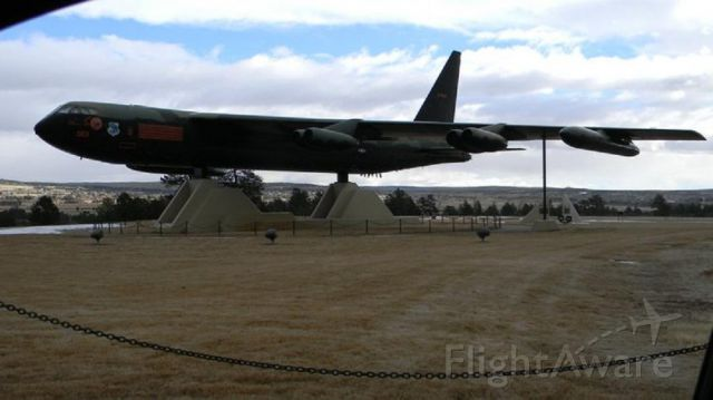 — — - Air Force Academy static display of B-52