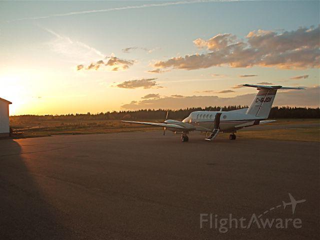 Beechcraft Super King Air 200 (C-GJDI) - A summer evening in Pokemouche, New Brunswick