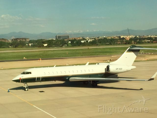 Bombardier Global Express (SP-WOI) - Bombardier Global Express 6000