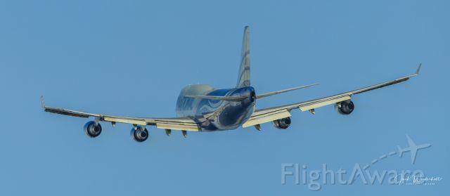 Boeing 747-400 (N952CA) - N952CA leaving Anchorage....7 April 2021.