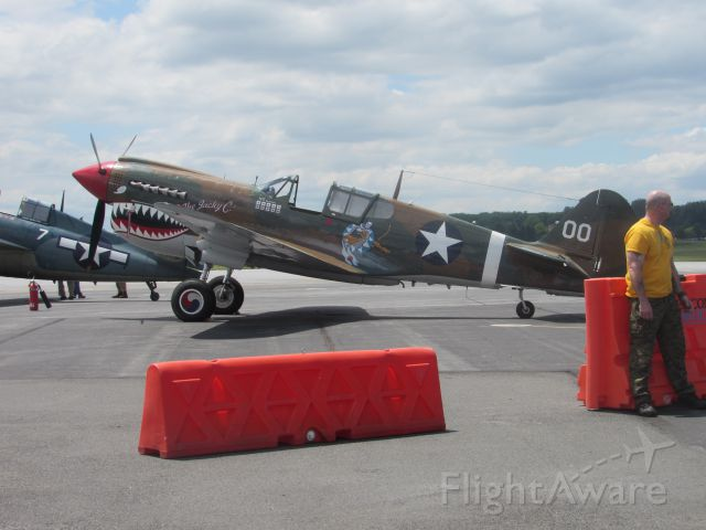 CURTISS Warhawk — - WWII Weekend 2015 June 6th