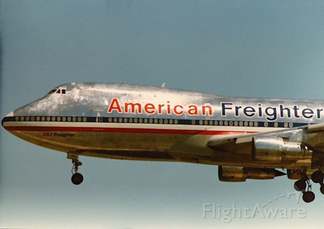 Boeing 747-200 — - American Airlines B-747 freighter on short final at KTUL