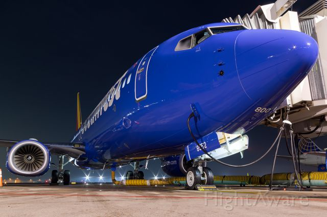 """Boeing 737-800 (N8552Z) - The newest aircraft to the SWA Fleet. Full Quality photo --> <a rel=""""nofollow"""" href=""""http://www.jetphotos.com/photo/8771960"""">https://www.jetphotos.com/photo/8771960</a>"""