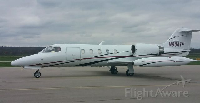 Learjet 35 (N804TF)