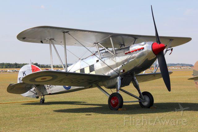 G-CBZP — - Hawker Fury Mk.1br /Flying Legends 2015. br /Photo: 11.07.2015