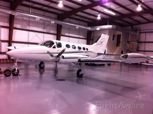 Cessna Chancellor (N414TN) - Warm, Dry, Cozy