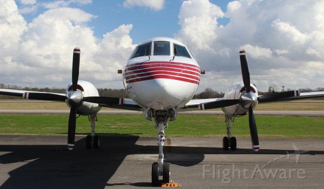Fairchild Dornier SA-227DC Metro (N681TR) - A 1987 Fairchild SA227-AC (according to the FAA Registry) on the ramp at Pryor Field Regional Airport, Decatur, AL - February 21, 2018.