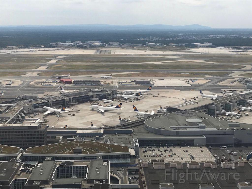 BOEING 767-300 — - Arriving in Frankfurt via MIAT Mongolian Airlines.