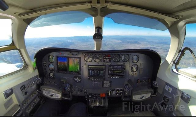 Cessna 340 (VH-CPB) - Glass cockpit by Complete Avionics