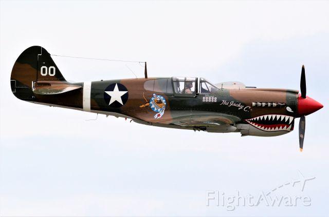 CURTISS Warhawk (NX1232N) - Curtiss P-40N Warhawk. Westfield-Barnes Regional Airport, MA.