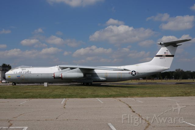 Lockheed C-141 Starlifter (N60177) - This is a historical aircraft. This is the first C-141 that brought Vietnam POW's home. This is at the USAF museum at WRight-Patterson AFB.