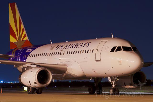 Airbus A319 (N826AW) - Aug. 24, 2011.