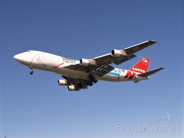 Boeing 747-200 (N644NW) - From june 2006 at ANC.