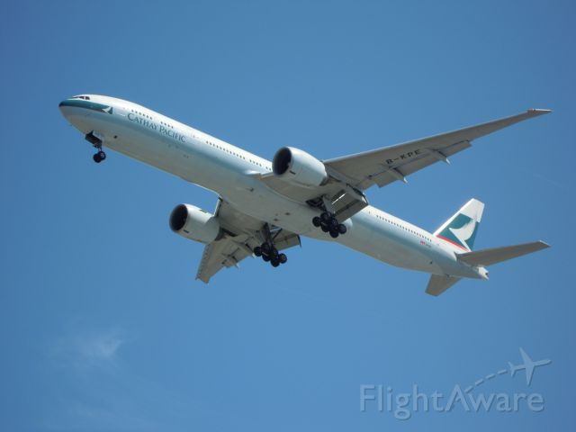 BOEING 777-300 — - cathay pacific 777-300 lax