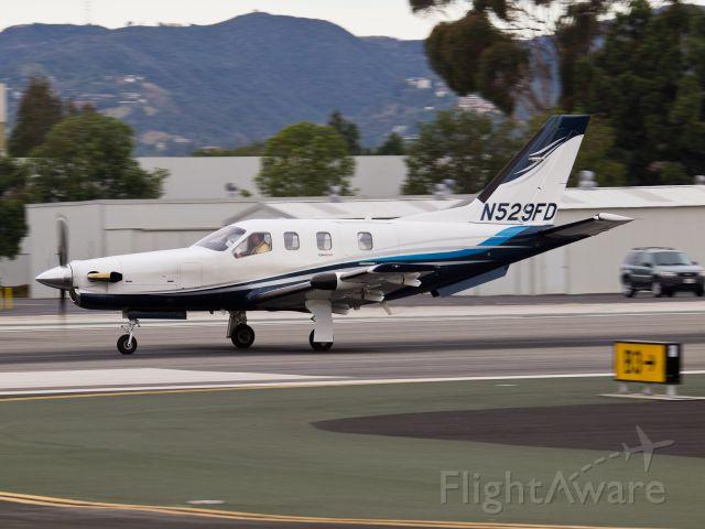 Socata TBM-850 (N529FD) - N529FD departing from RWY 21