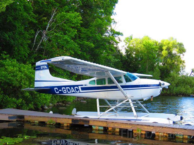 Cessna Skywagon (C-GDAC) - On Lake Saint Augustin in Quebec City