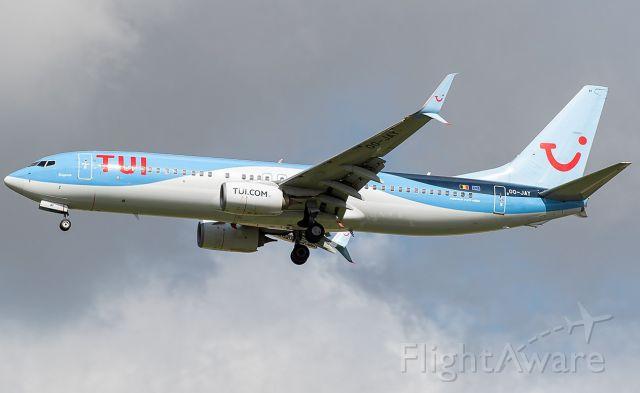 Boeing 737-800 (OO-JAY)