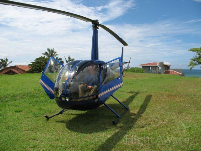 TI-BBP — - On a Medi-Vac mission in  Playa Azul, Guanacaste, Costa Rica