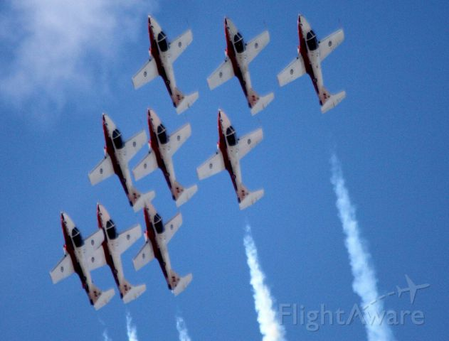 """— — - """"Wings Over Wine Country Airshow, Canadian Snowbirds Demonstration Flight Team,  09-27-2015"""