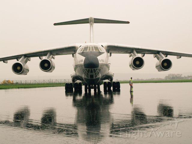 Ilyushin Il-76 (4L-SKD) - Il-76TD 4L-SKD at Kosice int. airport