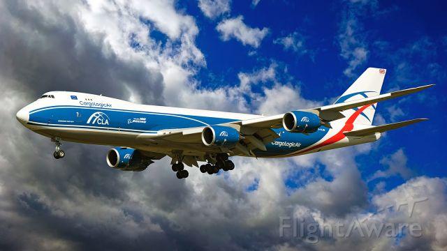 BOEING 747-8 (G-CLAB)