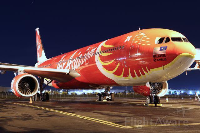 Airbus A330-300 (9M-XXT)
