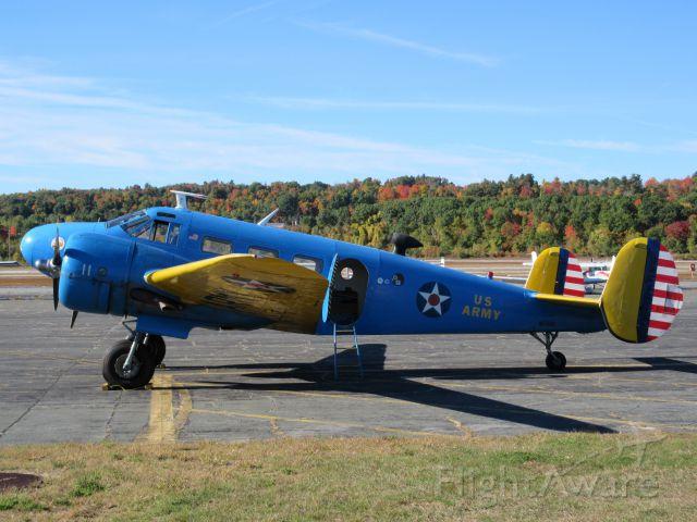Beechcraft 18 (N87690) - Beautiful Beech 18.